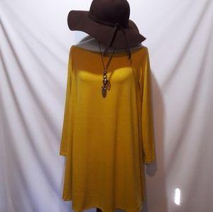 VINTAGE Boho swing dress